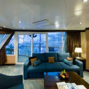 AquaTheater Suite: Oasis, Allure and Harmony of the Seas