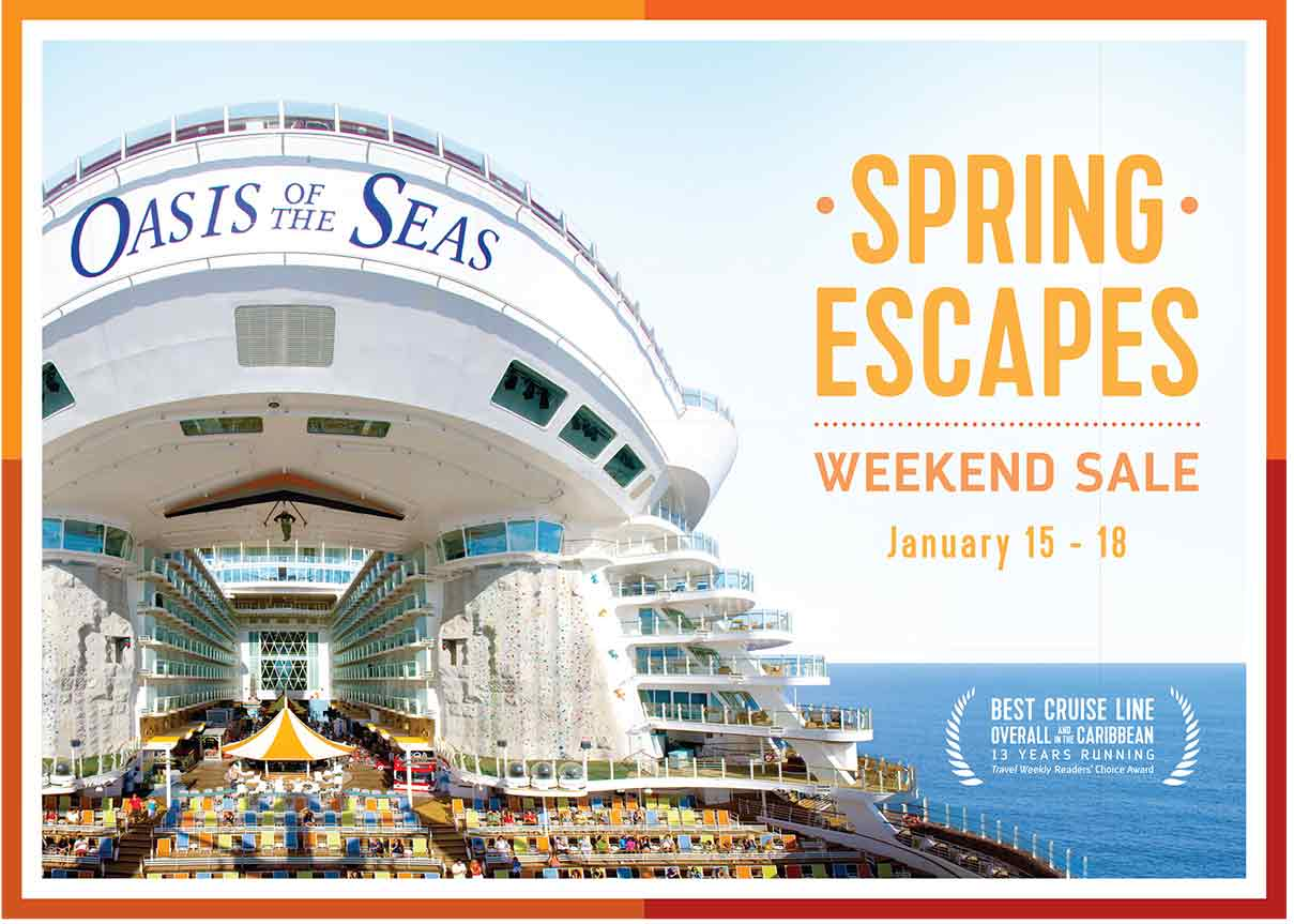 royal caribbean's spring sale